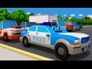 Мультики про машинки. Лучшие мультики про Полицейскую машину - Все серии подряд -...
