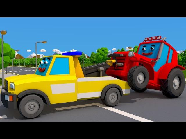 Video compilation of fairy tales about tractors | Bajki o Traktorach od Auta i Ciężarówki Kreskówki