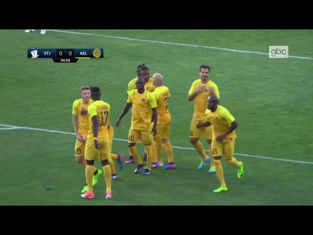 St Josephs [Gibraltar] - AEL Limasol [Cyprus] - 04 (29.06.2017) ★ FULL MATCH