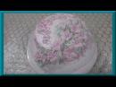 Домашний бисквитный торт Лилия . Как испечь и украсить торт кремом мокрое безе