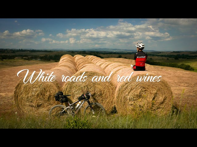 White roads and red wines ( Tuscany Trail 2017 )
