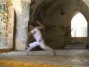 Rasteira em pé, Capoeira technique from the Akban-wiki