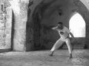 Chpeu de couro, Capoeira technique from the Akban-wiki