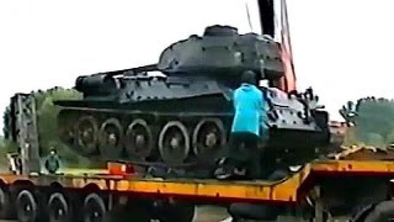 Достали из болота и завели! Раскопки второй мировой Танк Т 34 85 The excavation Military archaeology