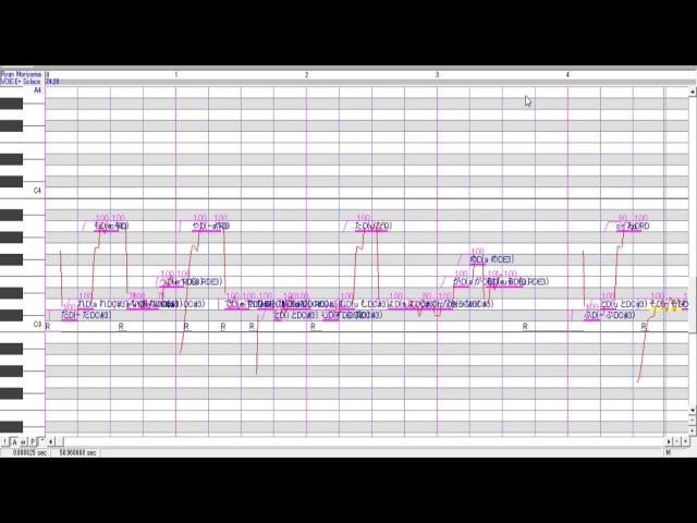 【UTAU WIP】なまえのないうた(Nameless song)【Ryan Moriyama Voice DREAM】