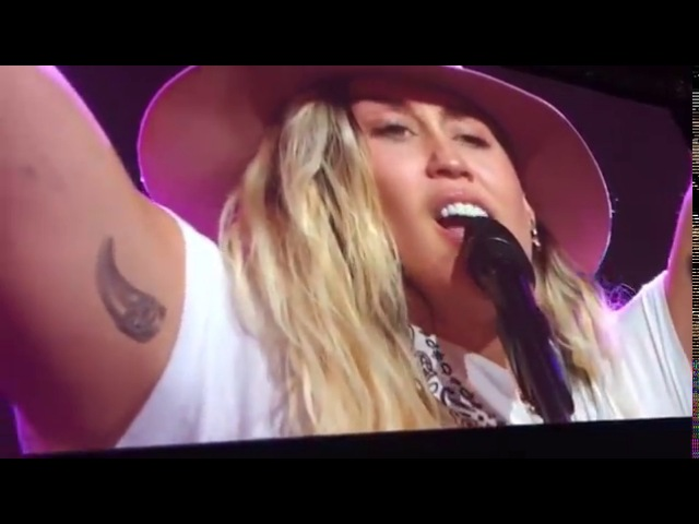 Miley Cyrus - Inspired (Live at The Robin Hood Benefit)