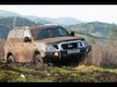 Nissan Patrol Y62 Forcing Mongolian Dirt