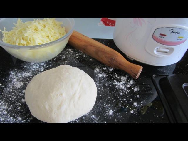 Nhồi nhào ủ bột mì Быстрое дрожжевое тесто hướng dẫn cách Nhồi Cán bột mì pizza men nở
