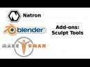 Blender 2.78 Add-ons Sculpt Tools