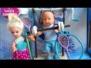 Барби спорт. Как сделать ракетки, штангу, турник. Играем в куклы