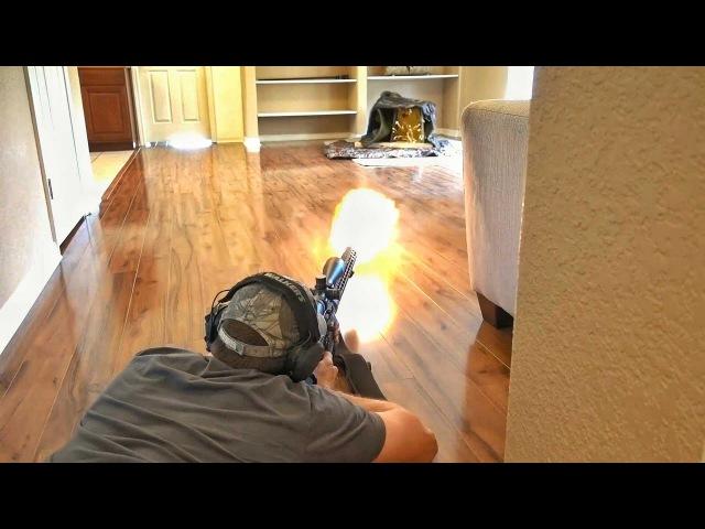 Огнестрельный тир для ваших квартир | Разрушительное ранчо | Перевод Zёбры