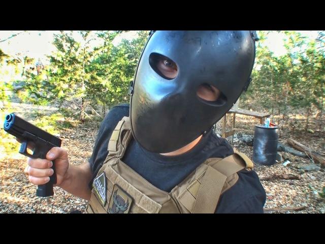 Пуленепробиваемая маска! | Разрушительное ранчо | Перевод Zёбры