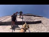Half Dome Cables - Yosemite National Park - Ascending - June 3, 2013