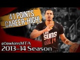Gerald Green NASTY Career-HIGH 2014.03.06 vs Thunder - 41 Pts, 8 Threes, On-FiRE!