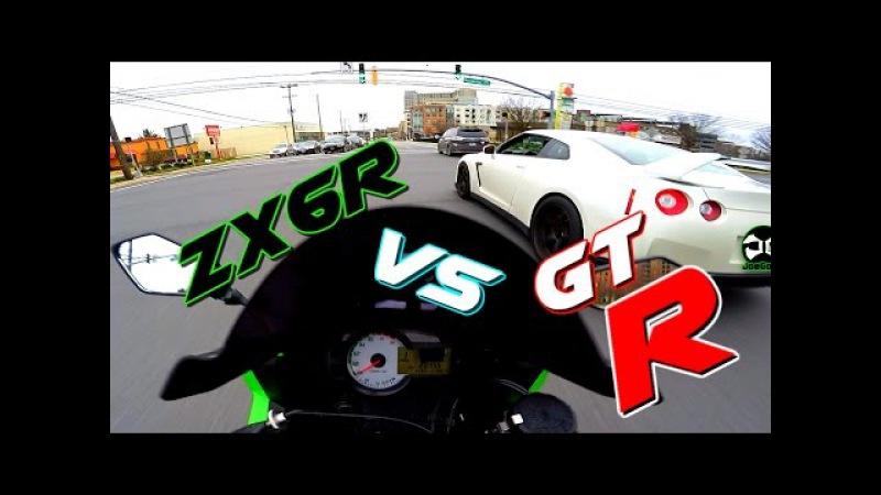 ZX6R vs Nissan GTR... / Mini JOE 3