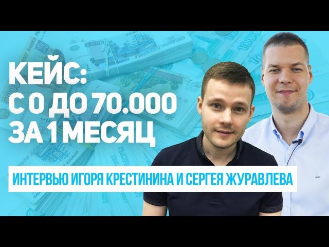 Кейс: с 0 до 70.000р. за 1 мес. на партнерках и новая квартира. Отзыв Сергея Журавлева.