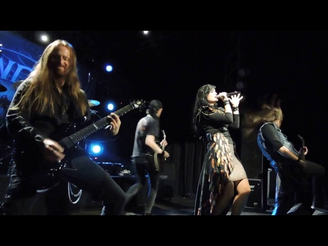 Xandria live in Montevideo, Uruguay - Nightfall/Blood on my ../Unembraced/Forevermore - 18/10/2016