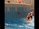 Настенька в Москве , аквапарк Карибия