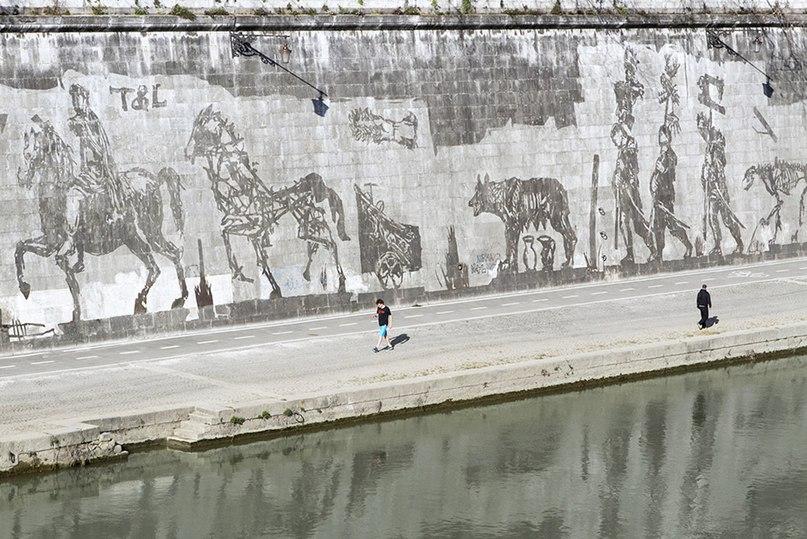 Вандалы снова в Риме