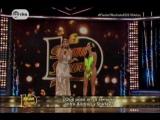 Baile de Andrea Luna y Marlon en Septima Gala de EL GS