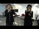 Delia feat UDDI Ipotecat LIVE @Radio 21