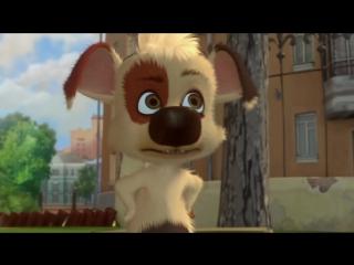Белка и Стрелка - Озорная семейка - Ловкость лап - Детские мультики