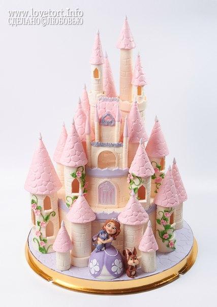 """Торт """"Замок принцессы Софии"""", 6,3 кг cake"""