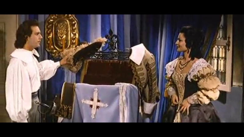 Три мушкетёра(Подвески королевы) Франция 1961 год, первая часть