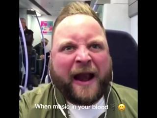 Когда музыка у тебя в крови