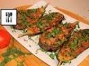 ИМАМ БАЯЛДЫ - фаршированные баклажаны по-турецки. Баклажаны с помидорами и чесноком.IMAM BAYILDI