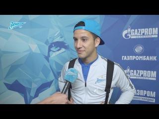 Себастьян Дриусси на «Зенит-ТВ»: «Надеюсь дать команде больше, чем просто льва н ...