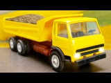 The Truck and The Excavator | Kids Video | Trucks for children | Construction Vehicles