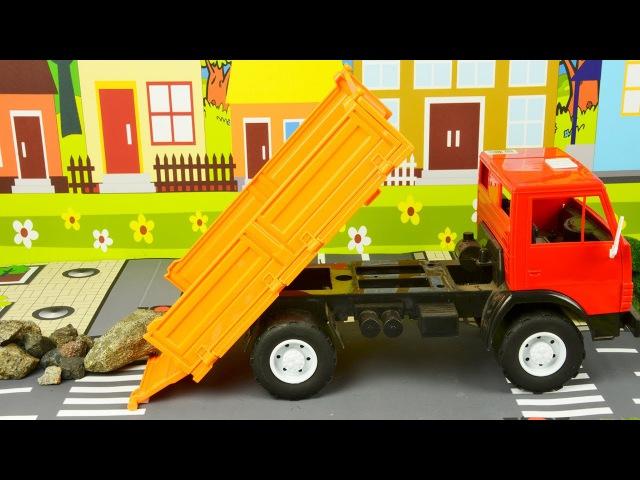 Ciężarówki i Dobre Auta | Bajki o Samochodach - pojazdy bajka o maszynach - Trucks for Kids