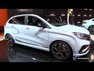 2017 Lada XRay Sport Concept - Exterior Walkaround - 2016 Moscow Automobile Salon