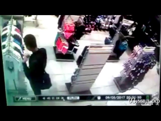 Магазинных воров объявили в розыск в Улан-Удэ (видео)