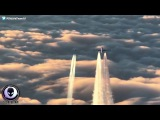 UFO Appears During Fighter Jet Intercept Of Airline 22017