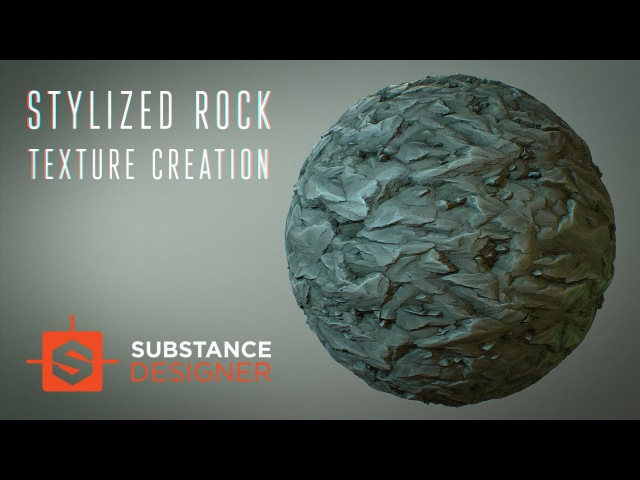 Stylized Rock material creation   Substance Designer