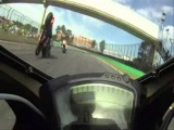 Crash Interlagos Superbike onboard
