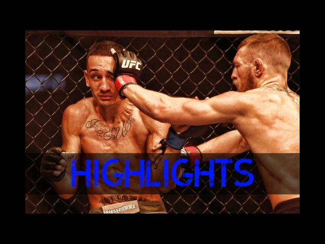Conor McGregor vs. Max Holloway Fight Highlights || Конор Макгрегор vs Макс Холлоуэй Лучшие моменты conor mcgregor vs. max hollo