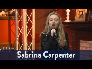 Sabrina Carpenter Performs