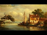 Tutorial Step By Step Oil Painting Landscape Using Only 5 Colors By Yasser Fayad