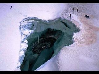 В Антарктиде обнаружили лежащий НЛО, возможно, потомок древних пришельцев