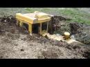 Трактор застрял в грязи. Большая подборка с тракторами