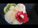 P1 Clip hướng dẫn dậy cách tự làm Kem tươi Vani Ванильное мороженое Công thức làm kem vani tại nhà