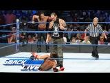AJ Styles &amp Shinsuke Nakamura vs. Kevin Owens &amp Baron Corbin SmackDown LIVE, July 18, 2017