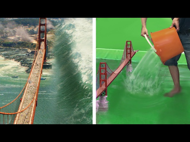 Amazing Before After Hollywood VFX Part 14