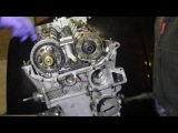 Собираем механизм ГРМ и выставляем фазы BMW M54