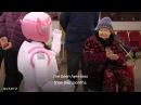Китайский робот-компаньон для обитателей дома престарелых