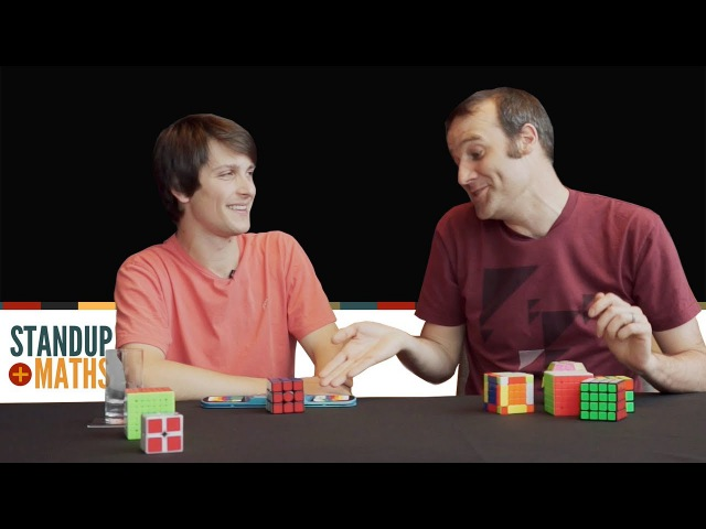 Matt meets Feliks Zemdegs Rubik's Cube World Champion