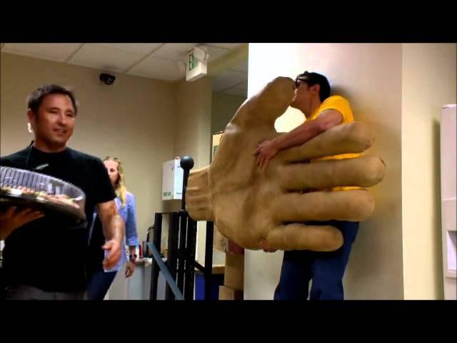 Jackass the high five